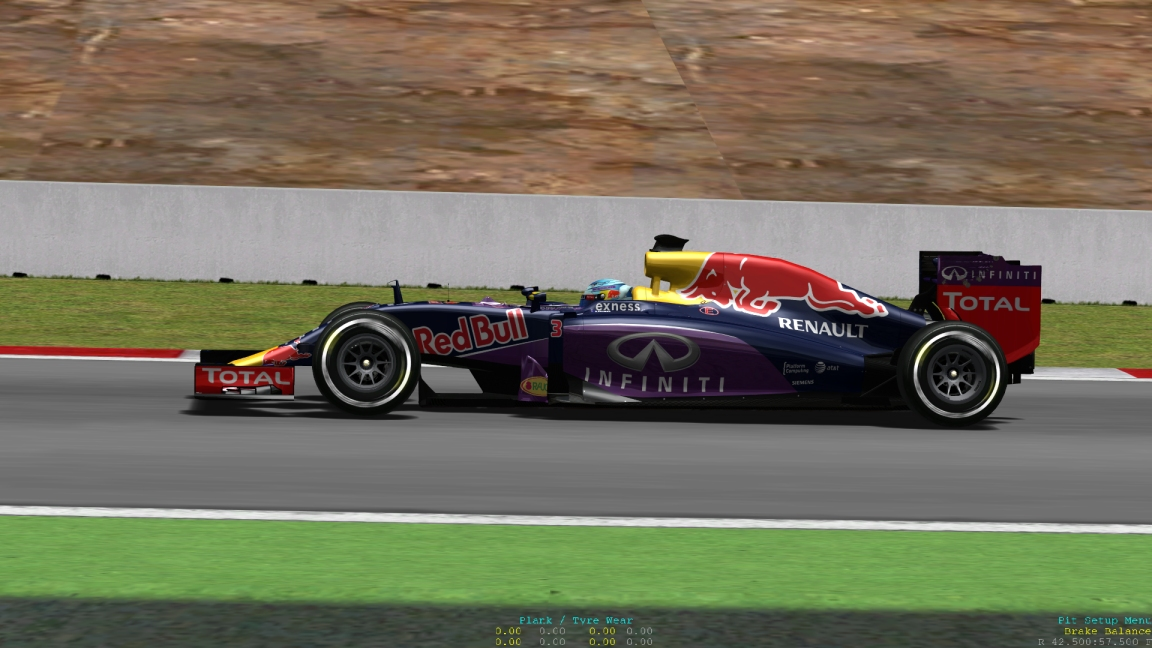 GP4 Cars Saison 2015 - Red Bull